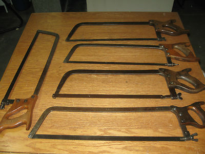Antique Meat Saws From Riverside, Shapleighs