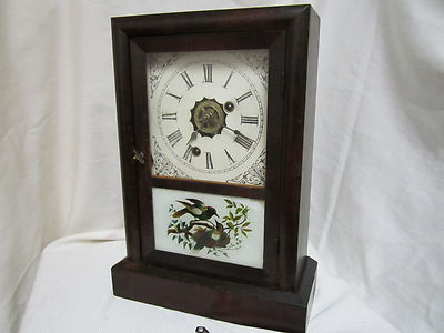 Antique Small Ansonia Alarm Clock