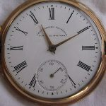 Antique Scarce Waltham Chronometro Victoria