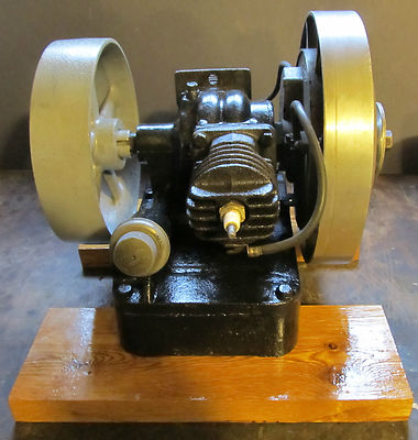 VINTAGE HIT&MISS MAYTAG 2 CYL ENGINE  RUNNING/GREAT