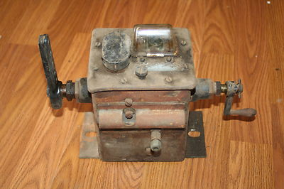 ANTIQUE ORIGINAL MADISON KIPP STEAM OILER LUBRICATOR TRACTOR HIT MISS GAS ENGINE