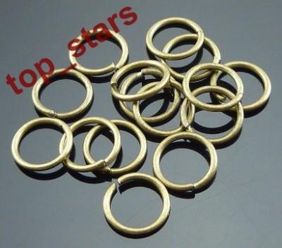 F&P 500pcs antique bronze Split Jump Rings 80.9mm