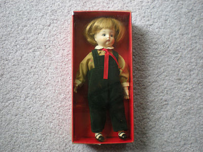"""Antique Copy Cats Christmas Collection DOLL """"Just Me""""  Original Box & Scarce"""