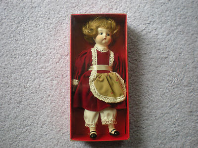 "Antique Copy Cats Christmas Collection DOLL ""Just Me""  Original Box & Scarce"