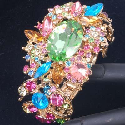 Maya Antique CZ Superior Charms Bracelet Party Fashion Jewelry