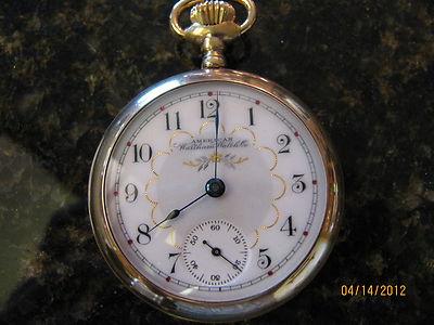 18s Waltham fancy dial
