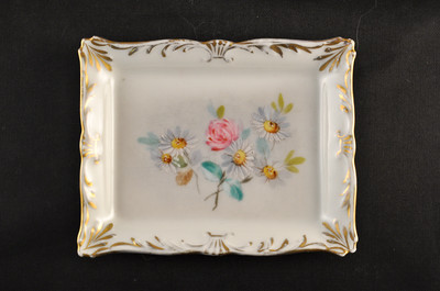 Antique Hand Painted Limoges T&V France Pin Dish, handpainted