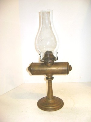 ANTIQUE ROCHESTER ADJUSTABLE STUDENT OIL LAMP TABLE OR WALL MOUNT