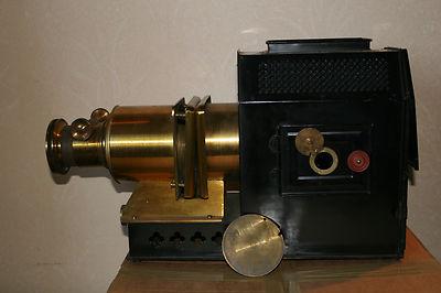 Antique Victorian Magic Latern in original case