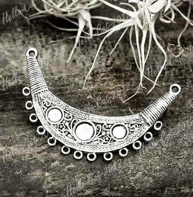 10pcs Tibetan Tibet Silver Vintage Antique Connector Links Findings TS0265