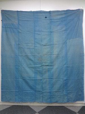 37240# Japanese KIMONO / ANTIQUE RARE COTTON RAU / PATCHWORK
