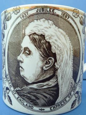 Victoria Queen Of England India Empress Jubilee Mug