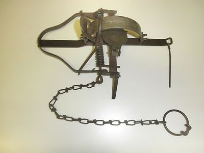Gibbs Two Trigger Pennsylvania Special Old Vintage Antique Trap