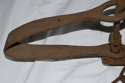 Antique Hand Forged Blacksmith Large Trap 2