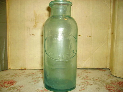Rare US Army Medicine Bottle Made 1862 1865 Civil War Era