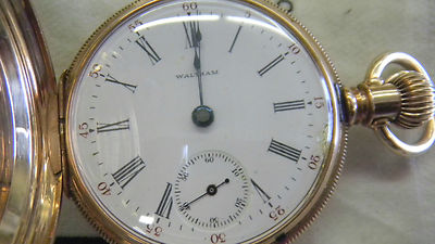 Hunter Case 1899 Waltham Pocket Watch