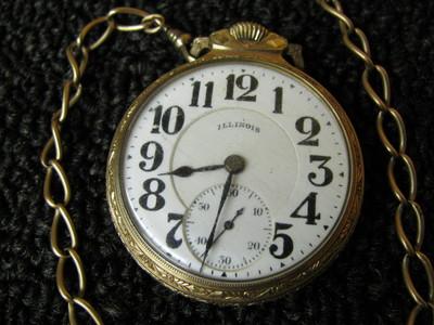 Illinois Bunn Special 21 Jewel Pocket watch