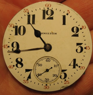 Hamilton 16 size 17 Jewel Pocketwatch