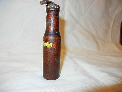 Antique Wooden Metal Bottle Opener