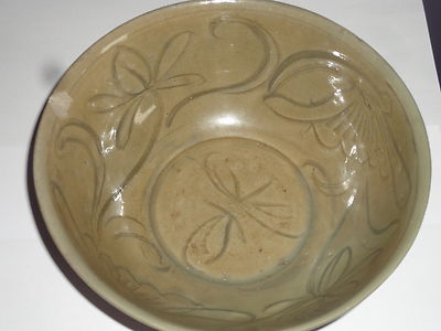 Outstanding Antique Chinese Song Dynasty Celadon Pottery Bowl 1