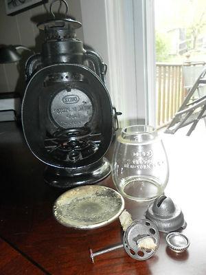 Antique Very Rare Dietz Little Wizard Ideal Inspector Lamp Lantern Vesta
