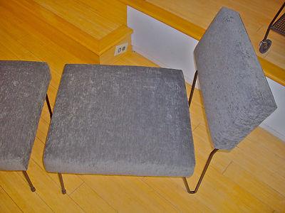 Rare Midcentury Inco Lounge Chair Ottoman Mccobb Schindele Grossman Knoll Era 1