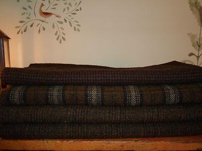 Rug Hooking Wool 2 Plus Yards Various Textured Antique Darks