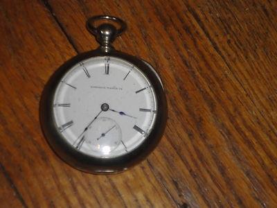 National Pocket Watch (Early Elgin) Key Wind GM Wheeler