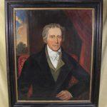 1840s American Folk Art Oil Painting, President Andrew Jackson