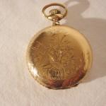 Estate Antique Seth Thomas Lever Set Pocket Watch  Beautiful Repair or Parts