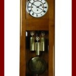 Beautiful, Antique Gustav Becker 3 weight wall clock with Grand Sonnerie at 1900