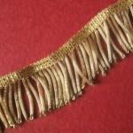Antique Gold Metallic Bullion fringe trim, Vestment