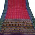 Vintage Sari Real Pure Patola Silk Saree Fabric Hand Weaving Quilt Craft Design