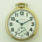 Hamilton 992 21J Railroad Antique Mens Pocket Watch