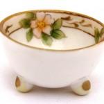 Antique Nippon Open Salt Cellar, Dip, Dish, Bowl