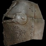 Great Antique Helm Medieval Pot Helmet
