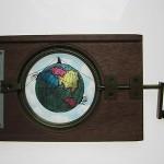 Magnificent  Antique Superb Mechanical Magic Lantern Projection Slide