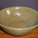 Outstanding Antique Chinese Song Dynasty Celadon Pottery Bowl