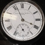 Antique Gents Silver Pocket Watch John Myers