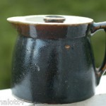 Antique 1880s NC Catawba Valley Pottery Crock