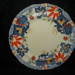 Antique Masons Regent Pattern Gaudy Ironstone 10.25″ Charger Plate