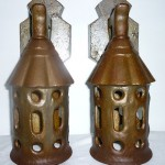Antique Cast Iron Outdoor Wall Lamps Porch Lamps Fixtures