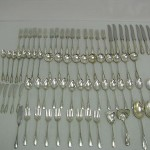 Manchester Sterling Silver Antique 79 Pieces