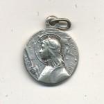 Antique St Joan Of Arc Medal Wonderful