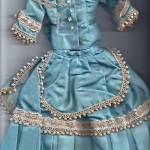 Antique Dress For French Fashion Doll