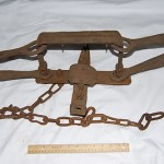Antique Hand Forged Blacksmith Large Trap