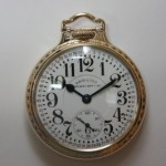 Vintage Hamilton Railroad Grade Pocket Watch