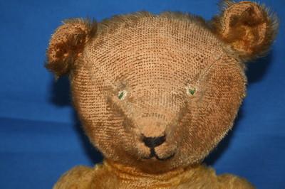 Old Teddy Bear 1920/30's Moving Head Arm Legs