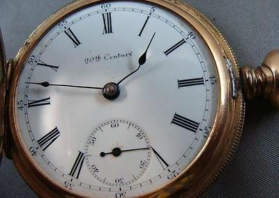 Montgomery Ward Pocket Watch From Estate