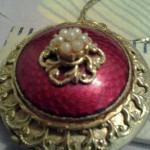Antique Locket 1910-30 Era Collectible